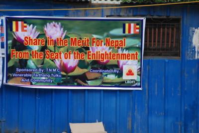 Tarthang Tulku's Banner