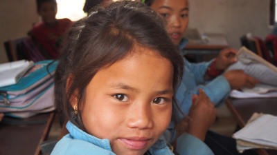 Education in Dhola - pretty girl